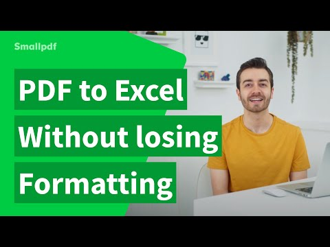 How to Convert PDF to Excel Without Losing Formatting