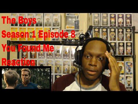 The Boys Season 1 Episode 8 You Found Me Reaction