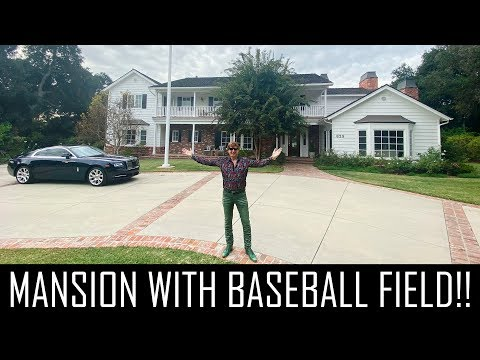 $13MILLION MANSION WITH A BASEBALL FIELD!!