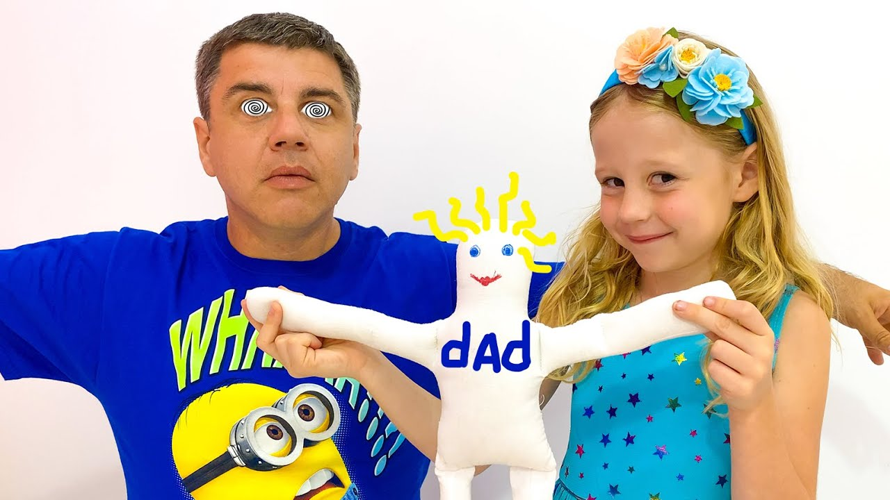 Nastya and dad have fun with toys  the most popular series for children