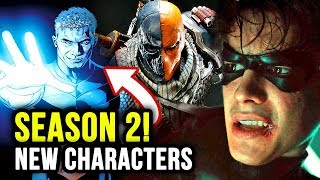 Deathstroke, Jericho & Ravager Coming to Titans Season 2?!