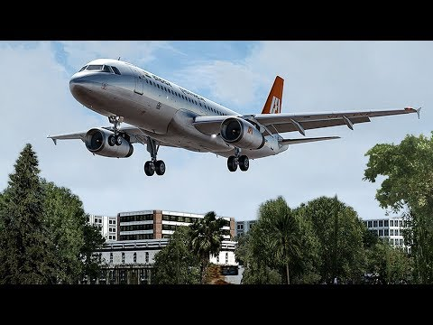 Disaster In India | Airbus A320 Crashes Moments Before Landing | Indian Airlines Flight 605 | 4K
