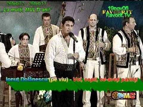 Ionut Dolanescu (pe viu) - Voi, copii, ce-aveti parinti (19nov06, Favorit Tv); IonutDolanescu.tk