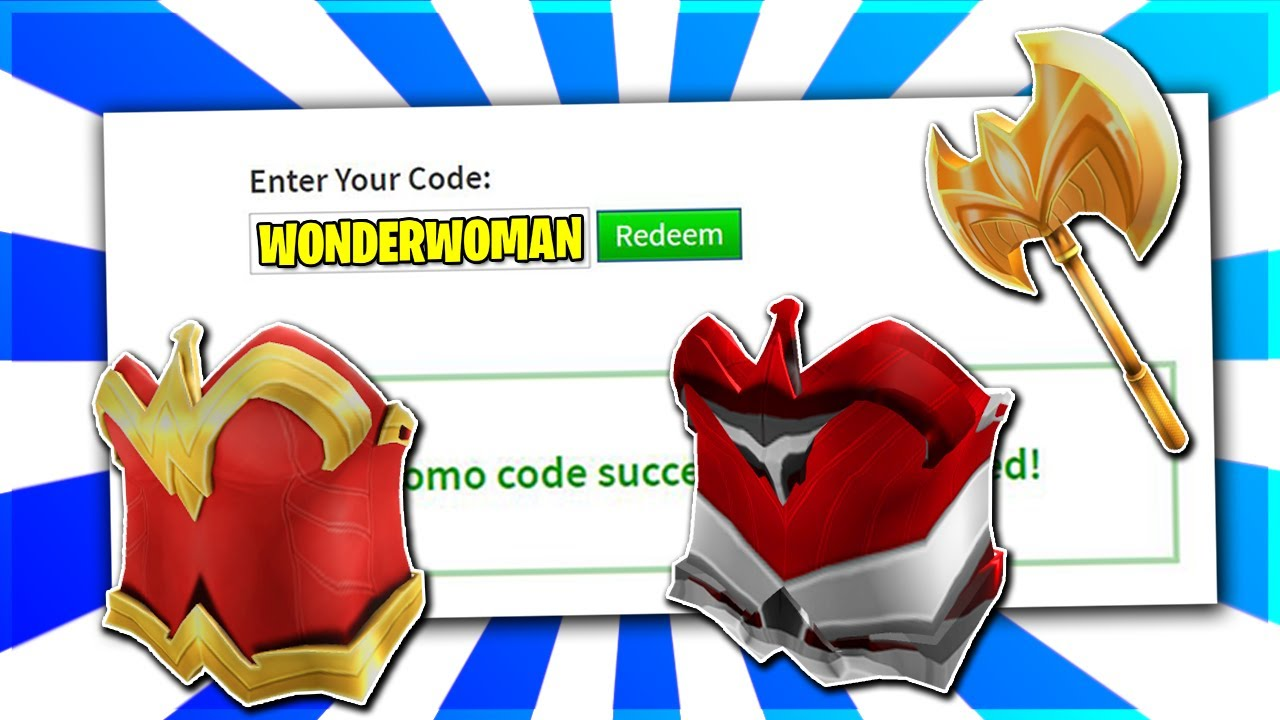 New Roblox Promo Codes On Roblox 2020 Roblox Event Wonder Woman