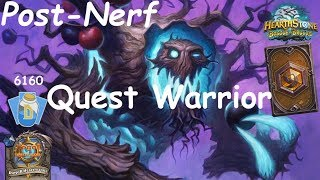 Hearthstone: Quest Warrior Post-Nerf #8: Witchwood (Bosque das Bruxas) - Standard Constructed
