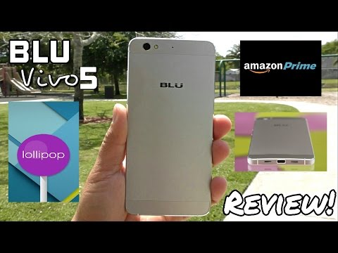 Blu Vivo 5 - Full Review - Amazing Budget Phone with USA 4GLTE!