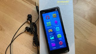 Unbox & Review/Demo Of The MYMAHDI MP3 Player! Great Value & Very iPod Like!