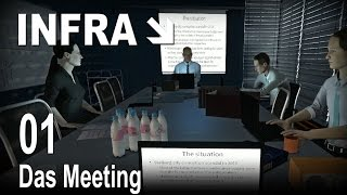 INFRA [01] [Das Meeting] [Let's Play Gameplay Deutsch German] thumbnail