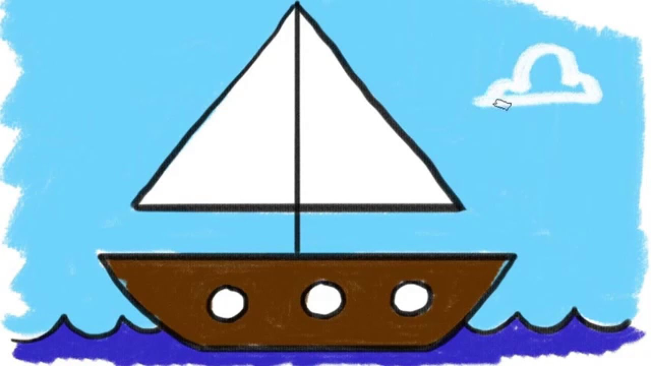 Uncategorized How To Draw A Boat Easy 13 learn the easy way to draw a triangle for kids youtube