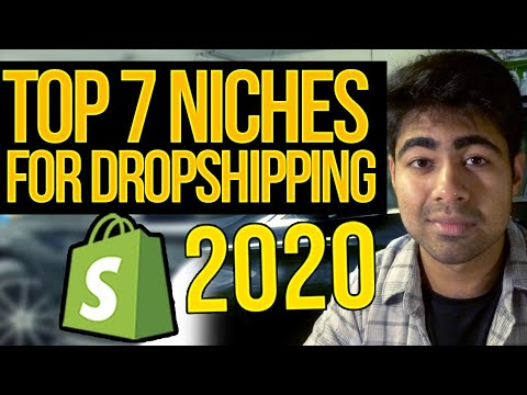TOP 7 Niches For Shopify Aliexpress Dropshipping In 2020 thumbnail