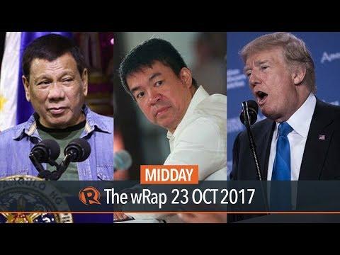 Duterte, Senators in UK, Trump | Midday wRap