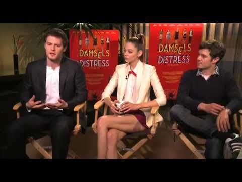 EMPIRE  Damsels In Distress s Adam Brody, Hugo Becker and Analeigh Tipton