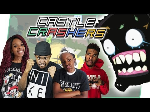 CRAZY EPIC BOSS FIGHT! WILL WE SURVIVE?! - Castle Crashers Gameplay