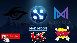 🔴[DOTA 2 Live Stream]Team Secret - Nigma Esports Grand Final WePlay!Tug of War:Mad Moon[Map 2,3,4,5]