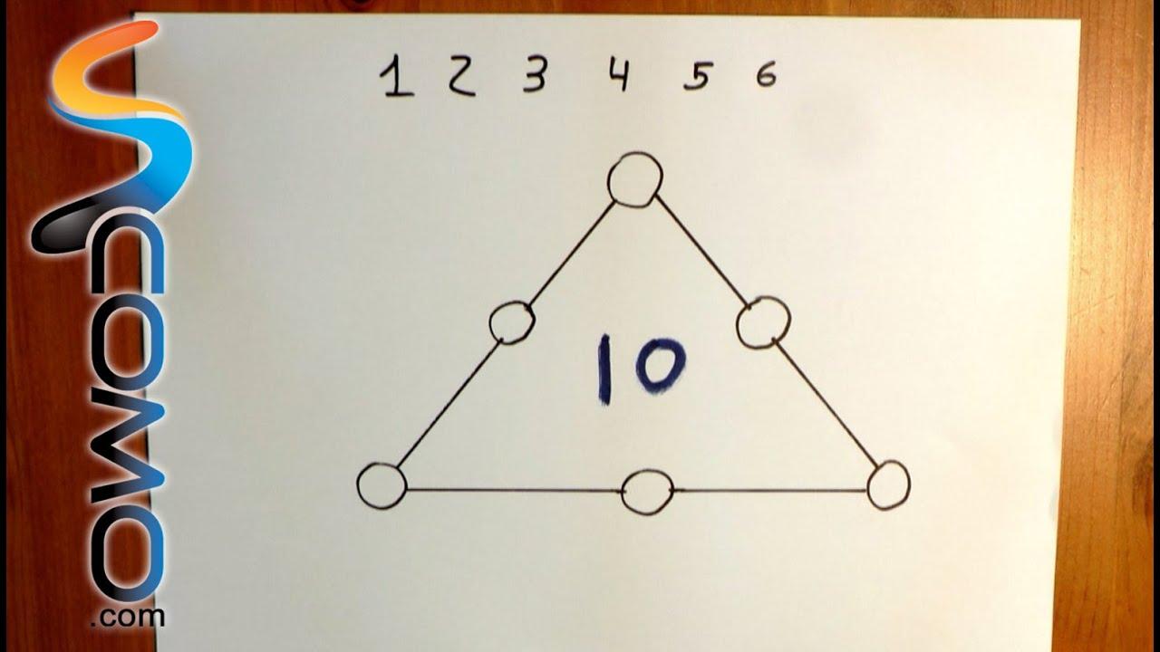 Acertijo De Matematicas Con Respuesta Triangulo Youtube