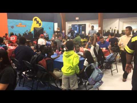 Orange Ridge-Bullock Elementary School celebrates Dads Day