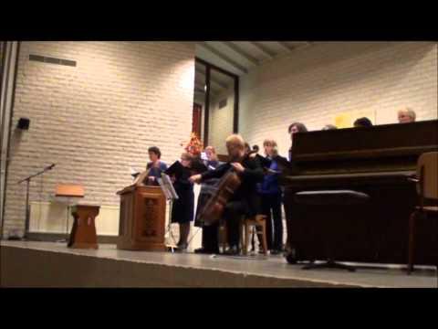Nu bidden wij met ootmoed en ontzag (Liedboek 95), koor- & samenzang