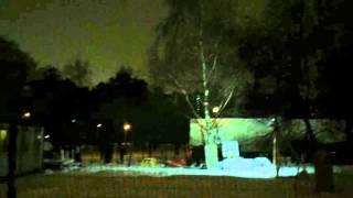 видео За парк Торфянка с Храмом