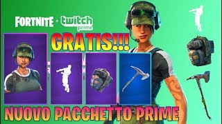 SKIN TWITCH PRIME SU FORTNITE - GRATIS PER PC/PS4/XBOX E MOBILE