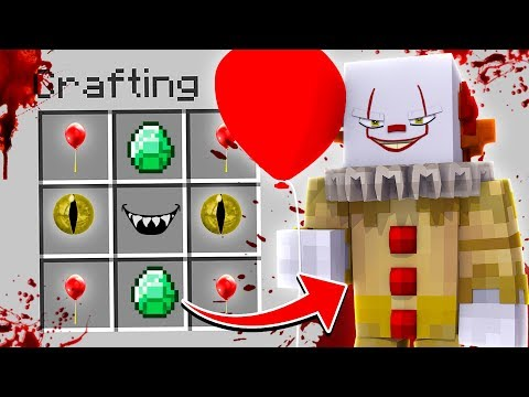HOW TO SUMMON IT THE CLOWN IN MINECRAFT (Pennywise)