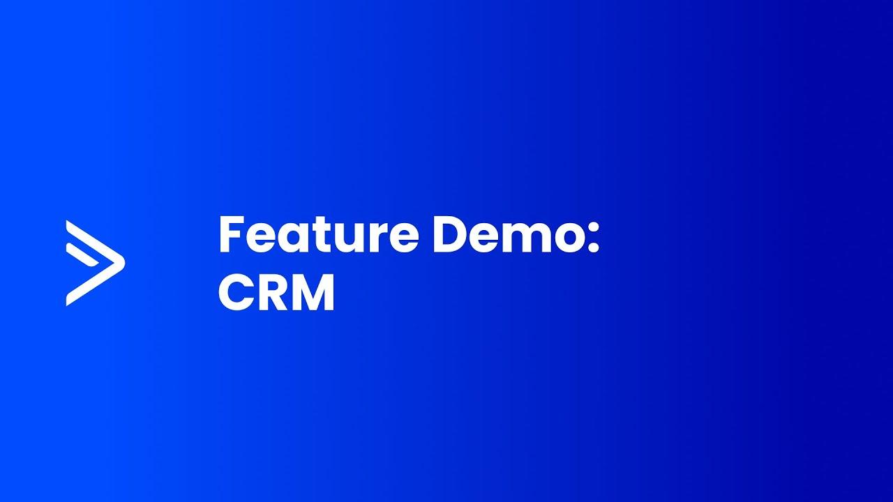 ActiveCampaign Feature Demo: CRM