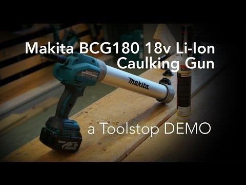 Makita BCG180 Cordless Caulking Gun - Toolstop DEMO