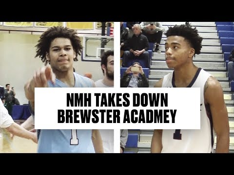 NMH Beats Jalen Lecque & Brewster Academy in NEPSAC Final - Full Game Highlights