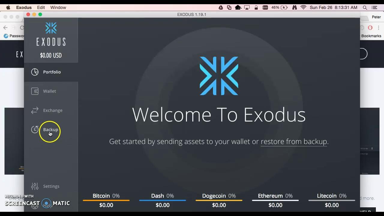 Wallet Exodus
