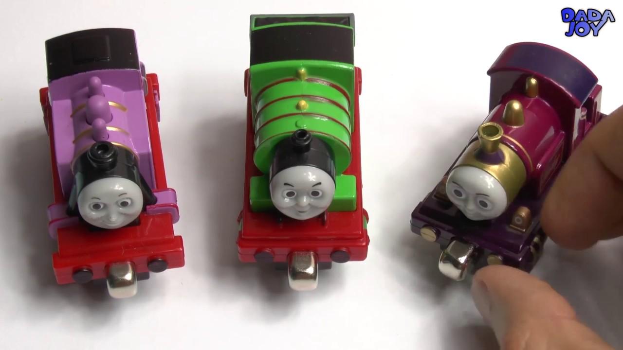Thomas y sus Amigos Huevos Kinder Aprende los colores con Thomas y ...