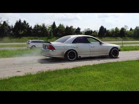 Drift Taxi - Lincoln LS^2 - Stu Kelly Ripping It Up!