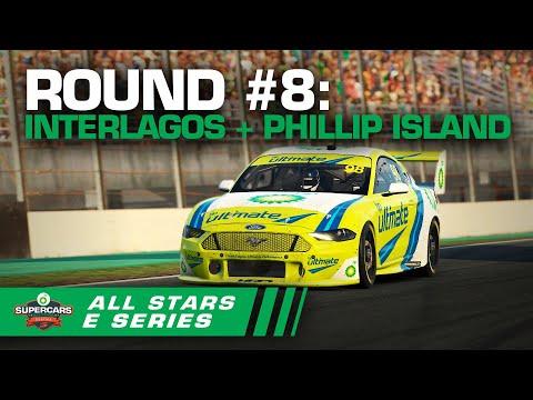 Round #8 [Race #24 + #25 + #26]: Interlagos + Phillip Island - BP All Stars Eseries | Supercars 2020