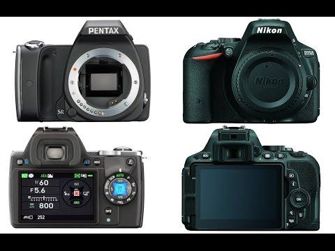 Pentax K-S1 vs Nikon D5500
