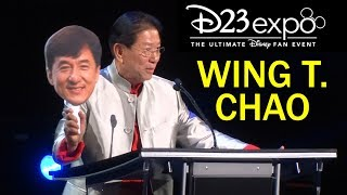 Wing T. Chao accepts Disney Legends award at D23 Expo 2019