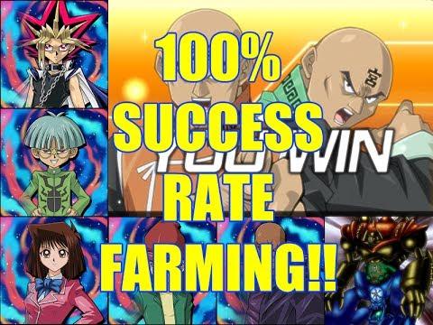 Gate Guardian Farms 5 lv 40 Legendary Duelists for 8k 100% Success Rate!