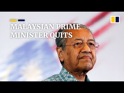 Download  Malaysian Prime Minister Mahathir Mohamad resigns, party quits ruling coalition Gratis, download lagu terbaru