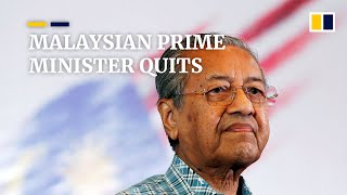 Malaysian Prime Minister Mahathir Mohamad Resigns, Party Quits Ruling Coalition