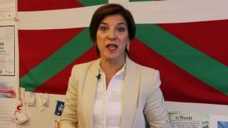 La Eurodiputada Izaskun Bilbao apoya la paz en Colombia