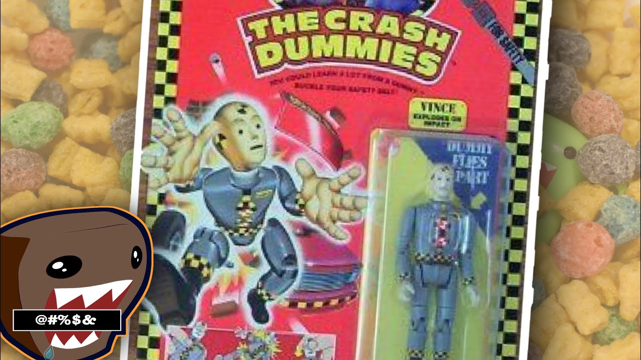 Vintage 1991 TYCO CRASH DUMMIES Larry Figure