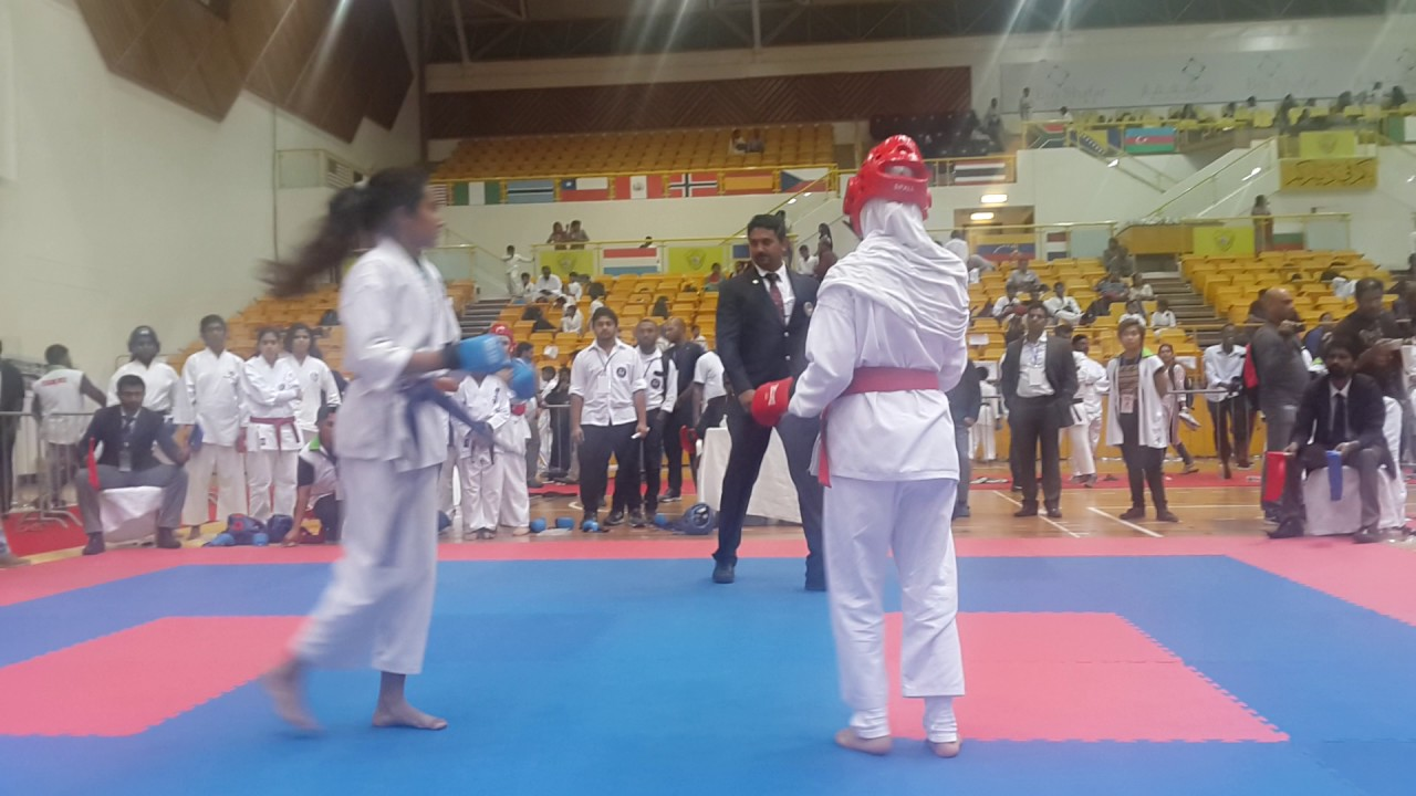 JKS Cup 2017 Anaswara (Golden Falcon Dubai Karama ) Fight -1st Round