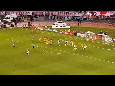 GOLES DE D'ALESSANDRO + CUIDATE BOSTERO - River Plate vs Trujillanos - Copa Libertadores 2016