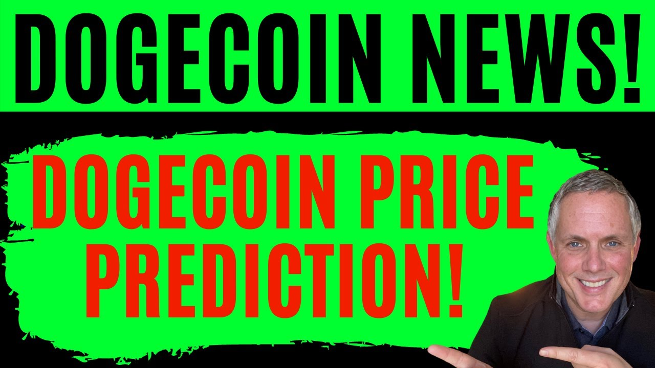 DOGECOIN PRICE PREDICTION! DOGECOIN DOWN 4% - FIND OUT WHY! DOGE HOLDERS - IMPORTANT!