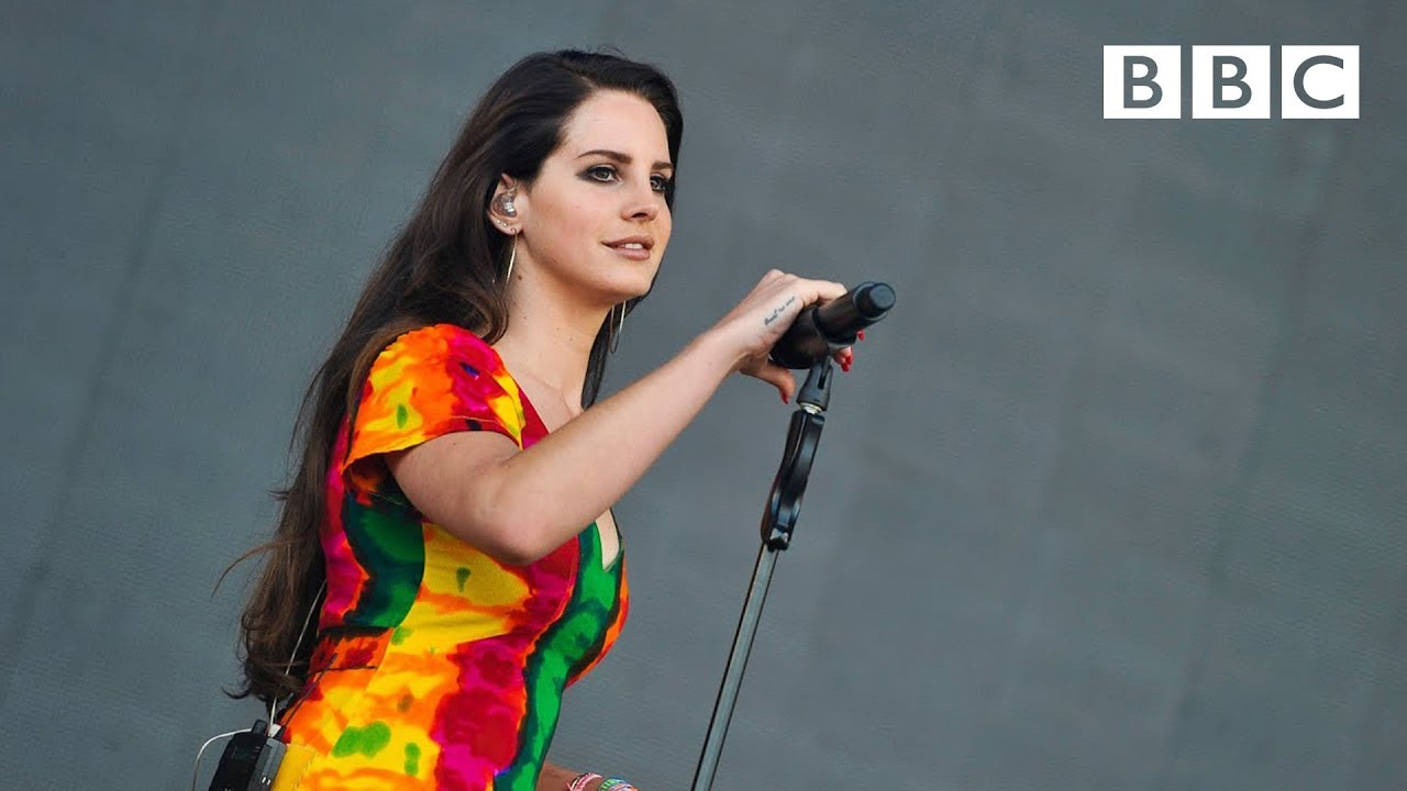 Lana Del Rey - Ultraviolence at Glastonbury 2014