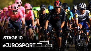 Vuelta a España - Stage 10 Highlights | Cycling | Eurosport