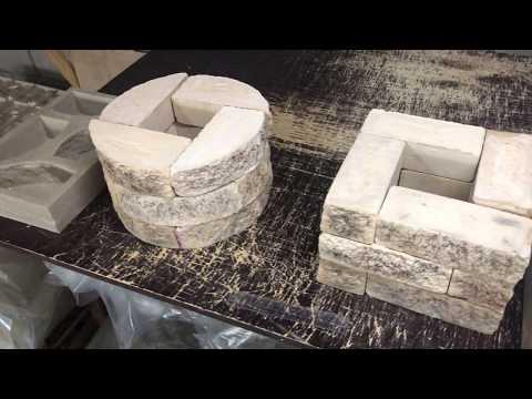 Полиуретановые формы (PVP) формы для литья наборных столбов