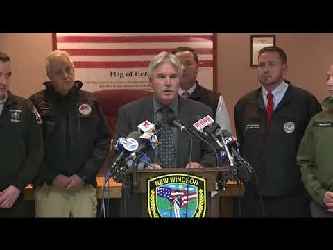 Local and State Officials Hold Press Conference on Chemical Explosion in New Windsor