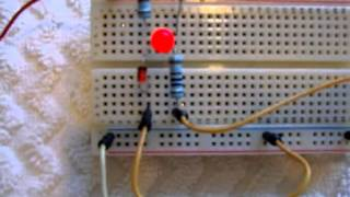 DC Low Voltage LED indicator circuit