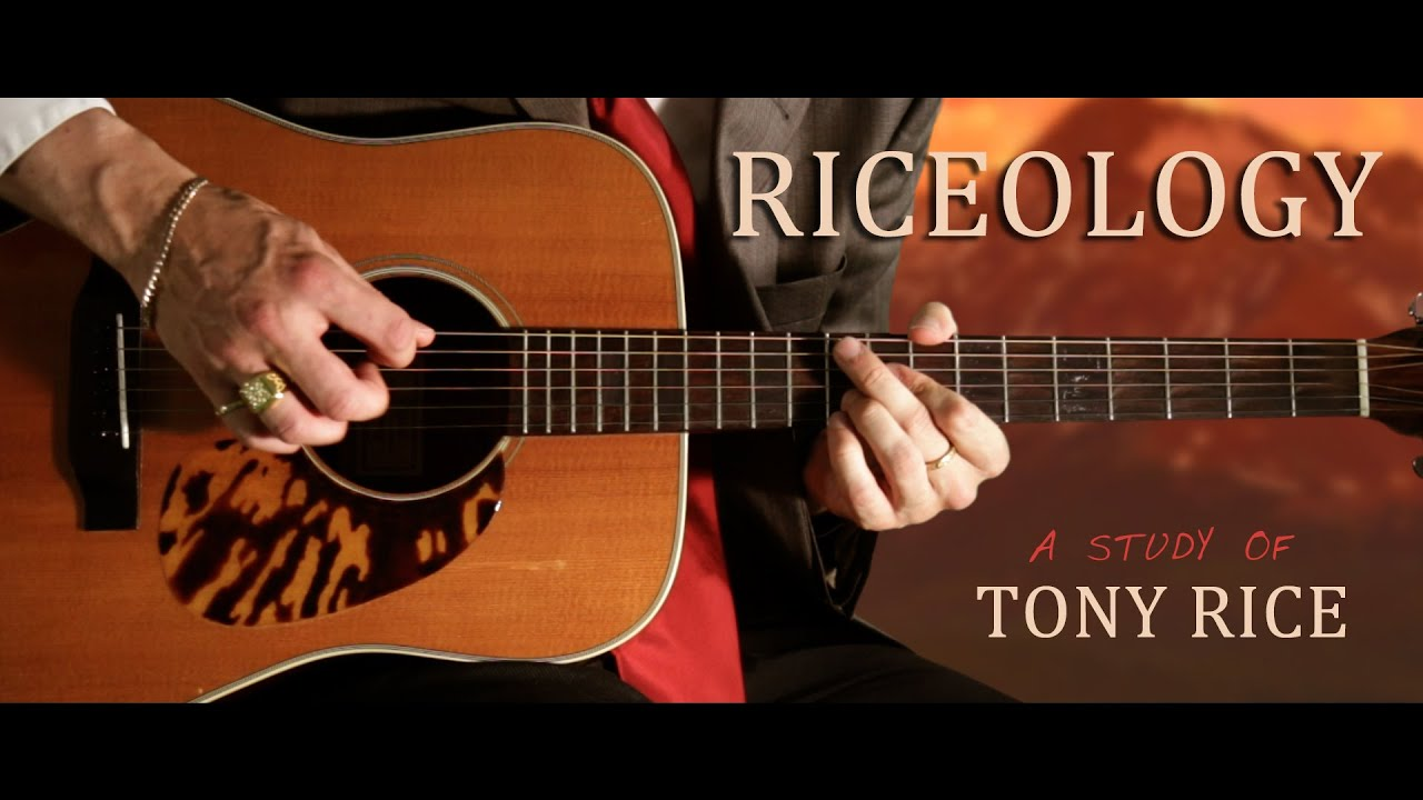 RICEOLOGY – a study of TONY RICE by Chris Brennan