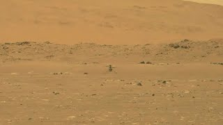 NASA flies helicopter on Mars