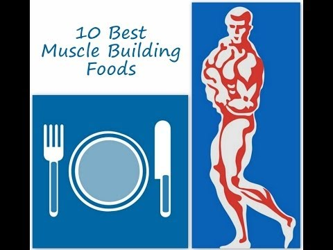Best Muscle Building Foods? Don\'t Miss These 10 Best Muscle Building Foods In Your Diet!!