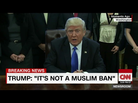 Trump's Travel Ban, Iranian Missile Tests, and Syrian Refugee's